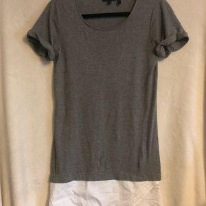 Theory shirt tunic/dress